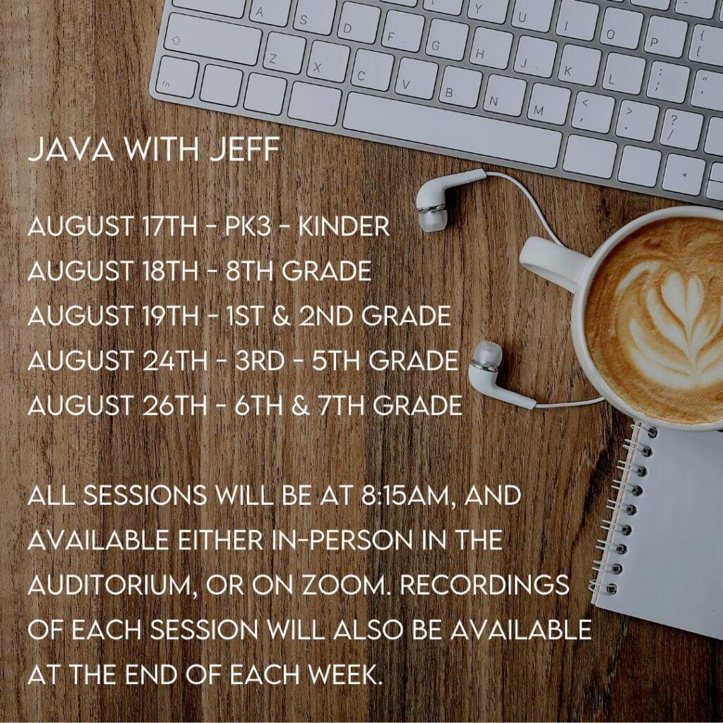August Java